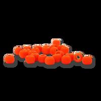 Firehole Stones (Tungsten Beads) - Fire Orange
