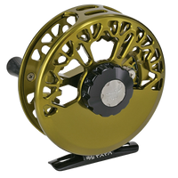 Abel Vaya Series Fly Reels - Back (Dark Olive)