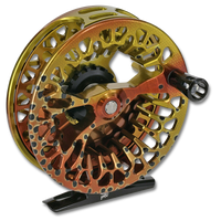 Abel Vaya Series Fly Reels - Front (Native Cutthroat)