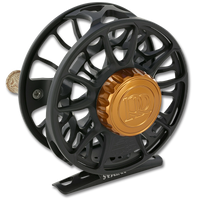 Ross Animas Fly Reel - Back