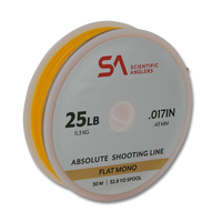 Scientific Anglers Absolute Flat Mono Shooting Line - 25 LB