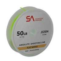 Scientific Anglers Absolute Flat Mono Shooting Line - 50 LB