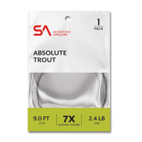 """Scientific Anglers Absolute 9'0"""" Trout Leaders - 1 Pack"""