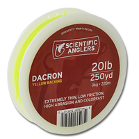 Scientific Anglers Dacron Backing - Yellow