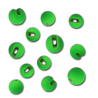 Firehole Slotted Tungsten Beads - Caddis Green