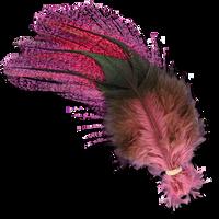 UV2 Coq De Leon Fire Tail Feathers - Hot Pink