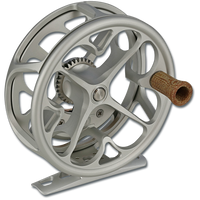 Ross Colorado Fly Reel - Platinum (front)
