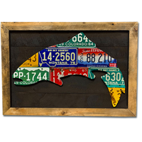 Trout with Frame