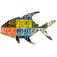 Mexico Permit License Plate Art