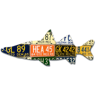Mexico Snook License Plate Art