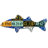 Maryland Striped Bass License Plate Art
