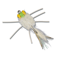 ESB Yellow Eye Raghead Crab - White