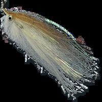 Spot-on Baitfish - Brown & White