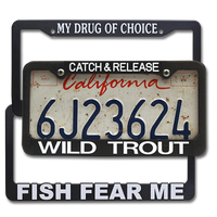 The Fly Shop's License Plate Holders