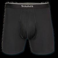 Simms Cooling Boxer Briefs - Carbon