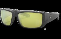Blackfin Pro Polarized Glass 580 Sunglasses - Matte Black/Sunrise Silver Lightwave Glass