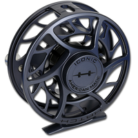 Hatch Iconic Fly Reels - Gray/Black (Back)
