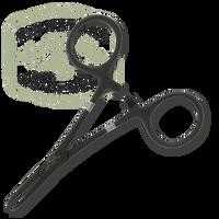 Dr. Slick/TFS Black Surgical Steel Tools