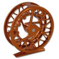 Galvan Brookie Fly Reel - Burnt Orange (Back)