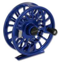 Galvan Torque Fly Reels - Blue (Front)