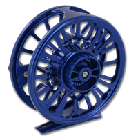 Galvan Torque Fly Reels - Blue (Back)