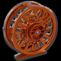 Galvan Torque Fly Reels - Burnt Orange (Back)