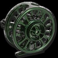 Galvan Torque Fly Reels - Green (Back)