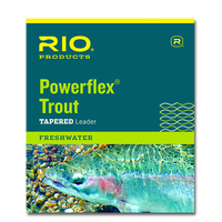 "Rio Knotless Tapered 12'0"" Trout Leaders - Single Pack"