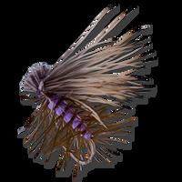 Elk Hair Caddis - Purple