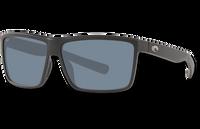 Rinconcito Polarized Plastic 580 Sunglasses - Matte Black/Gray Polycarbonate