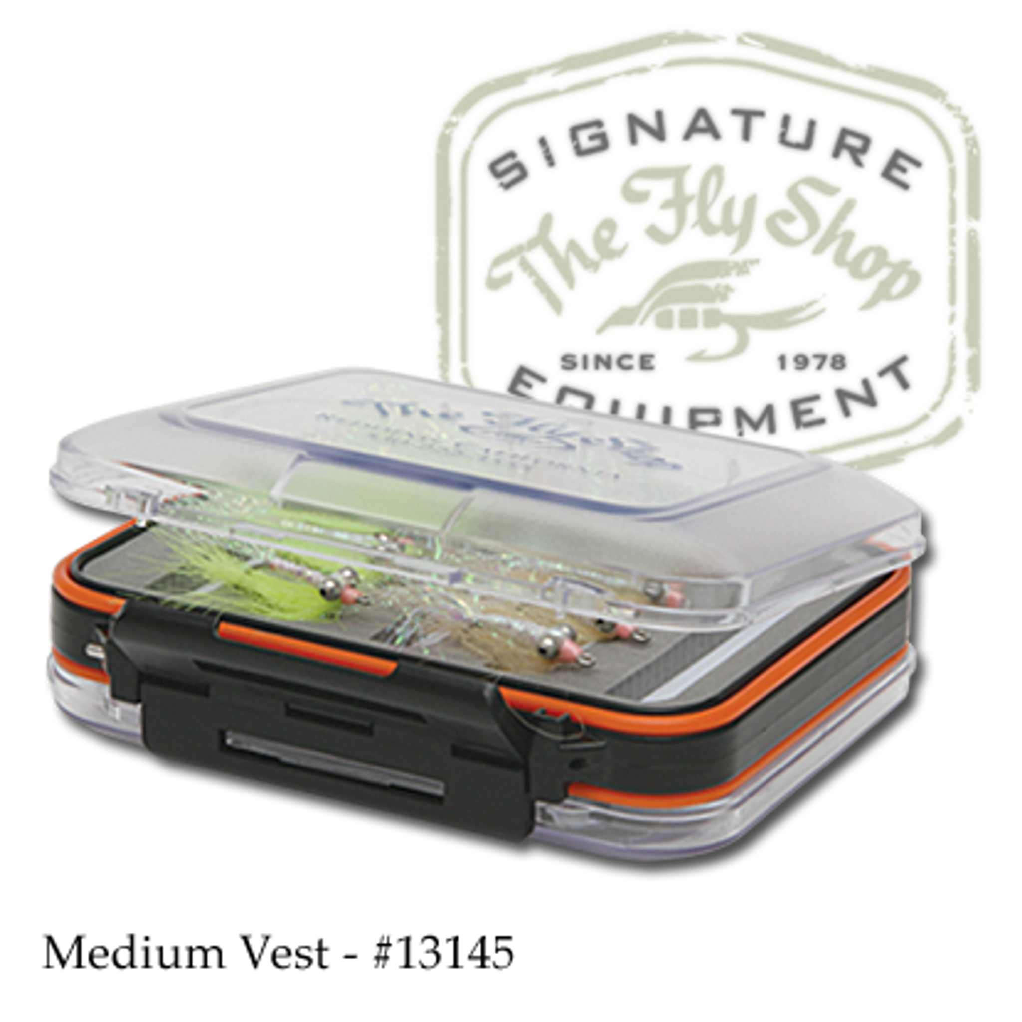Pocket Size Gilchrist fly Double Sided Fly Box Waterproof.