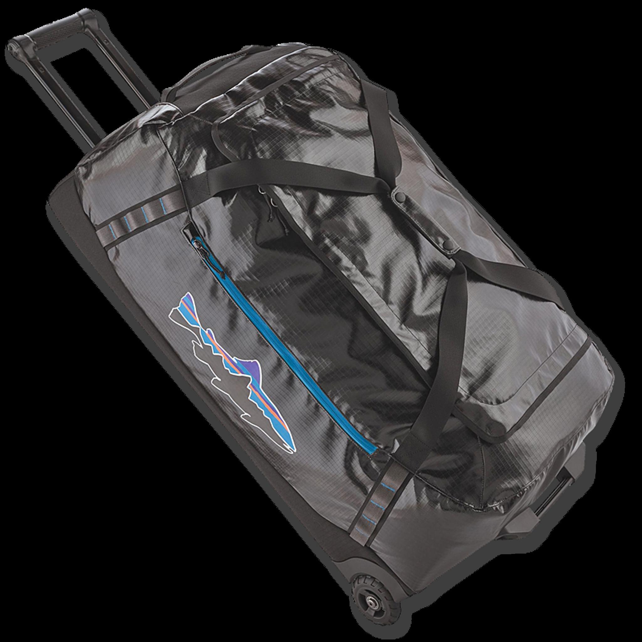 e8ad757cf2c9 Patagonia Black Hole® Wheeled Duffel Bag - Black with Fitz Trout ...