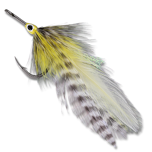 Details about  /2QTY TARPON SCREAMER 3D EYE Fly fishing flies size 3//0