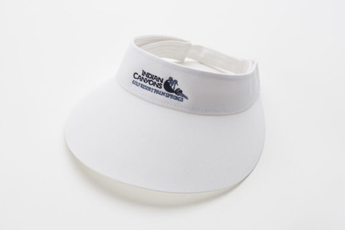 Big Brim Visor-White