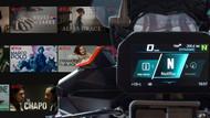 BMW Motorrad Connectivity Netflix update: kijk je favoriete tv series en films op je motorfiets