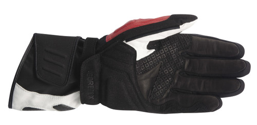 Handschoen Alpinestars GT-S X-Trafit Gore-Tex zwart-wit-rood (3525214-123)