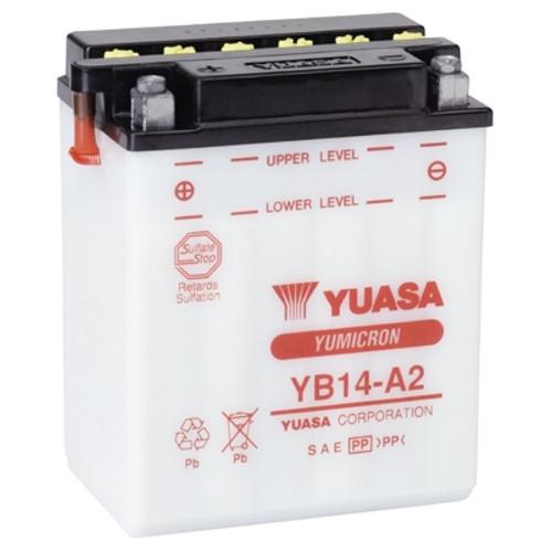 Accu Yuasa YB14-A2 (YB14A2)