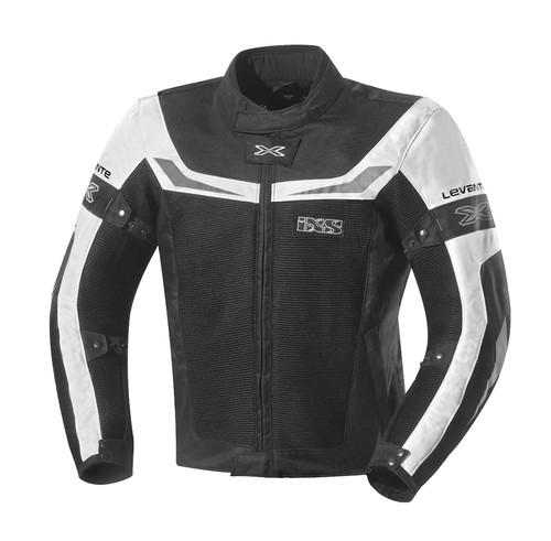 Jas IXS Levante zwart/wit (X51028-031)