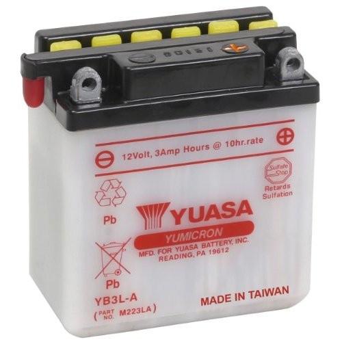 Accu Yuasa YB3L-A