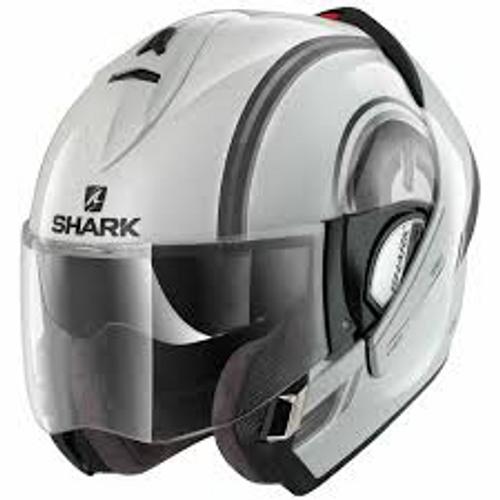 Helm Shark EvoLine 3 Moovit wit (HE9275E WKS)