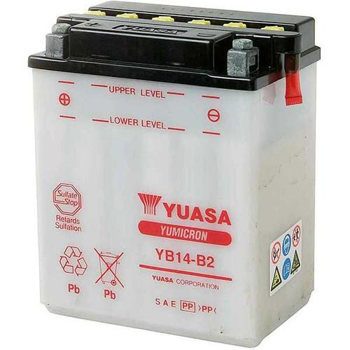 Accu Yuasa YB14-B2 (YB14B2)