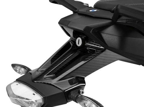 BMW S 1000 XR HP Carbon afdekking kentekenplaathouder