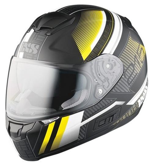 Helm iXS HX 215 Pixel matzwart-geel (X14058-M35)
