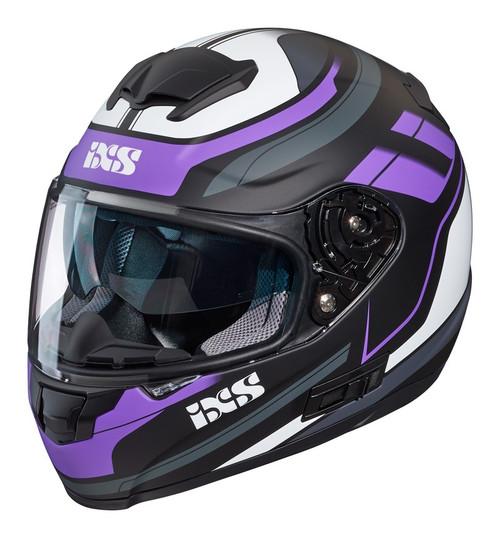 Helm iXS 215 2.0 matzwart-roze-wit (X14071-M38)