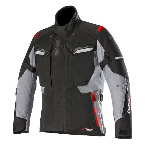 Jas Alpinestars Bogota' v2 Drystar zwart-donkergrijs (3207018-111)