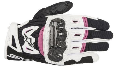 Handschoen Alpinestars Stella SMX-2 AC v2 zwart-wit-roze (3517717-1239)