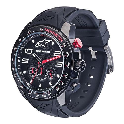 Horloge Alpinestars Tech Watch Chrono Black Silicon Strap (1036-96002)