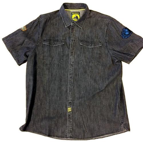 Overhemd Zwart Korte Mouw.Overhemd Bmw Roadster Korte Mouw Sale Motorplaza