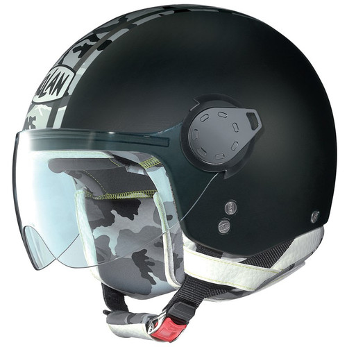 Helm Nolan N20 Traffic Combat Flat Black (N20177)