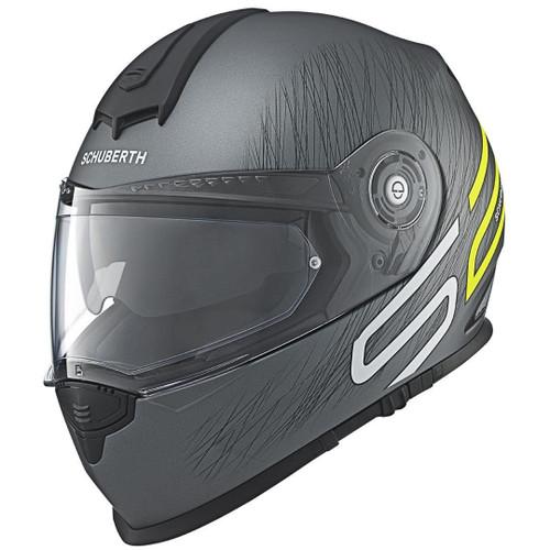 Helm Schuberth S2 Sport Drag zwart-fluorgeel (130 2104 170)